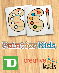 poster for Creative Love - T D Paint for Kids Regina