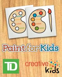 poster for Creative Shine - T D Paint for Kids Saskatoon